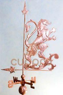Флюгер Геральдический лев