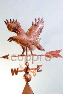 Флюгер медный Орел