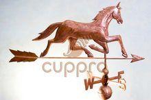 Флюгер медный Лошадь