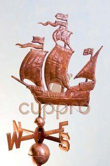 Флюгер Корабль-парусник
