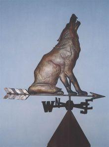Флюгер Волк Арт. 11011